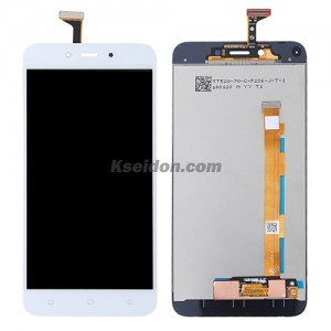 LCD Complete with frame For OPPO A71 Brand New White