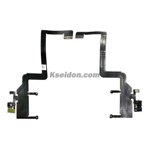 Sensor Flex Cable Pikeun iPhone 11 Pro Max Brand New Hideung