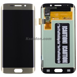 LCD Complete For Samsung Galaxy S6 edge/G925f Brand New Gold
