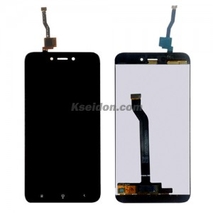 LCD Complete For MIUI Red rice 5a oi self-welded Black