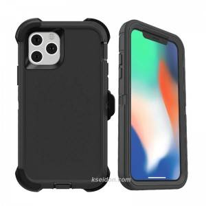 Full Hybrid Armor Phone Case for iPhone 12 Mini Pro Max Phone Cover with Holder OtteerBox Brand