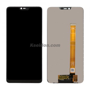 LCD Complete with frame For OPPO A3S Brand New Black