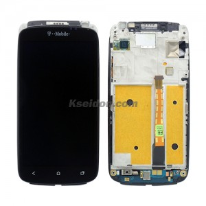 LCD Complete With Frame For HTC One S Brand New With Grade Touch Screen