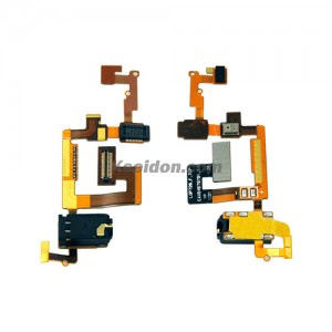 Flex Cable With Microphone Earphone Flex Cable For LG Optimus 3D MAX P720 Brand New