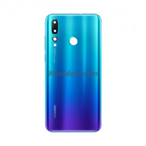 Battery Cover With Camera Lens For Huawei Nova 4 Brand New Blue