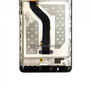 LCD Complete With Frame For Huawei P9 lite Boi self-welded Black