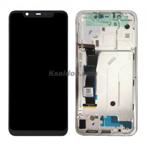 LCD Complete with frame For Xiao mi 8 Brand New White
