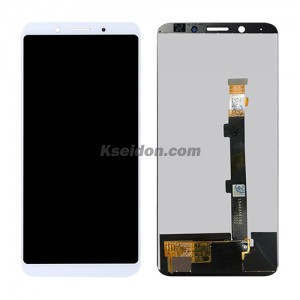 LCD Complete with frame For OPPO F5/A73 Brand New White