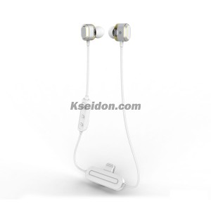 VRB-S26 Wired Bluetooth Earphone White
