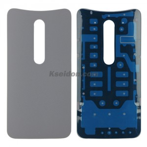 Battery cover for Motorola X3 style light gray