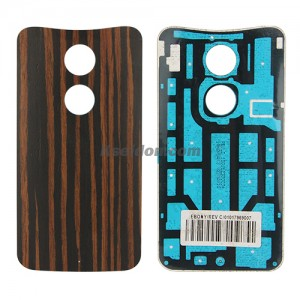 Battery cover Ebony without logo for Motorola X+1