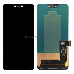 LCD Complete For HTC Google Pixel 3 XL oi Black