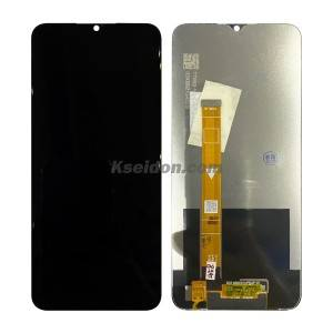 Realme 5i LCD Screen with Frame Black Kseidon