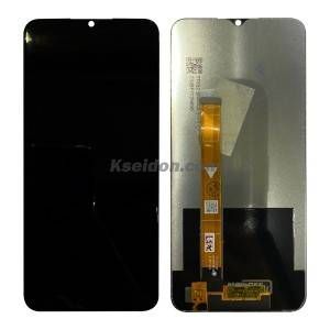 Realme 6i LCD Screen with Frame Black Kseidon