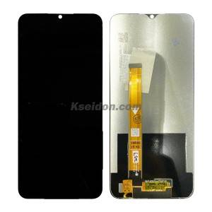 Realme C3 LCD Screen with Frame Black Kseidon