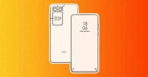 Xiaomi Mi MIX 2020 patent exposed, keeps high screen ratio on the front