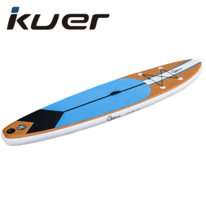 Wood color 11′ Double Layer Inflatable  SUP