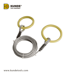 Reliable Supplier Black Log Tongs - Log Choker Cable with Tow Ring  Item# LT47 – Kunde