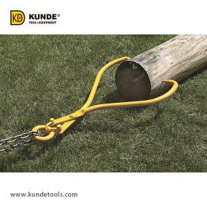 High Quality Log Skidding Lifting - Steel Log Skidding Tongs Item# LT24 – Kunde