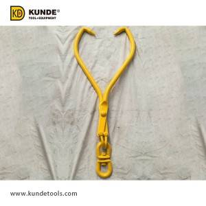 China Gold Supplier for Pto Log Splitter - Double Ring Swivel Grab Skidding Tong Item# LT46 – Kunde