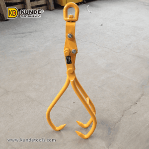 8 Year Exporter Log Hauler - 3-Claw Swivel Skidding Tongs Item# LT31 – Kunde
