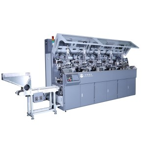 LP-F107 Multicolor Screen Printing Hot Stamping Machine