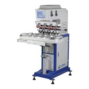 Four Color Pad Printing Machine