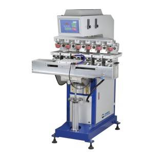 Six Color Pad Printing Machine