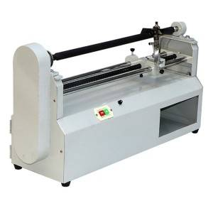 Electric Hot tembeldamine Foil alumiiniumfoolium Roll Slitter Cutting Machine