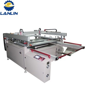 Factory Free sample Automatic Four Colors Glass Bottle Screen Printing Machines -