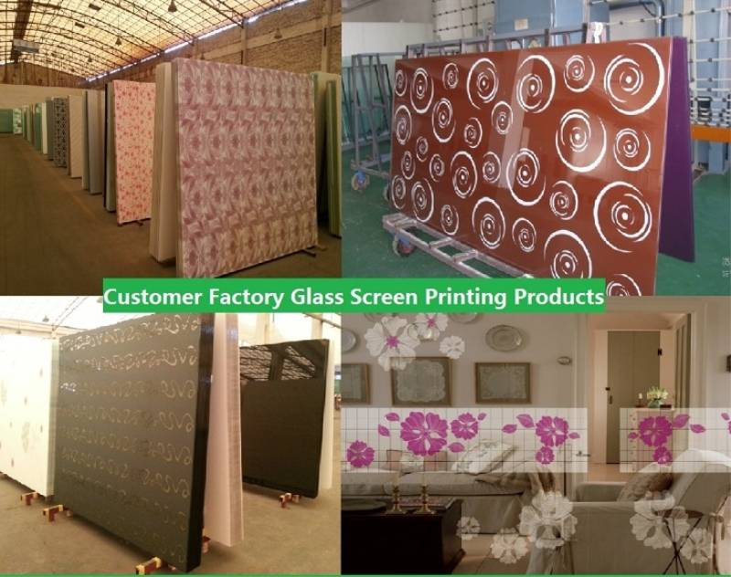 glass sheet screen printing