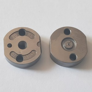 common rail injector valve plate