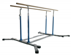 Steel Solid Cable Gymnastics Equipment Adjustable Parallel Bars for sale