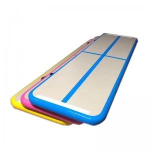 Wholesale Fitness Equipment Long Trampoline Mat Gymnastic Inflatable Mat