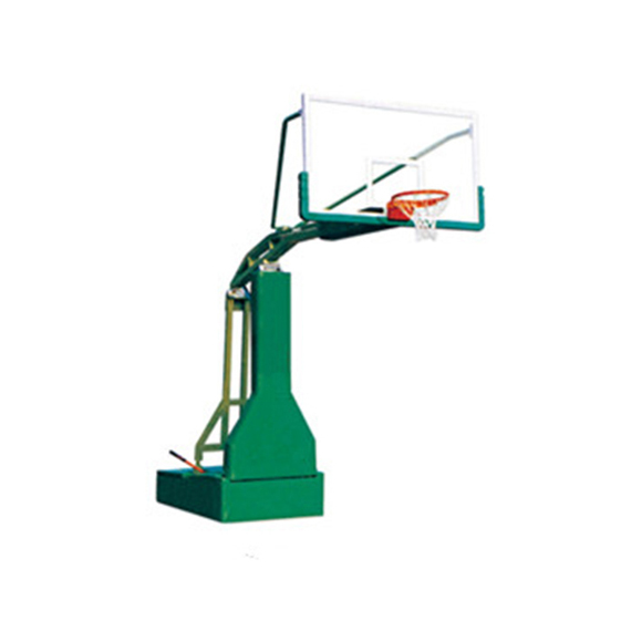 Professional Competition Equipment Indoor Hydraulic Basketball Hoop Portable Featured Image