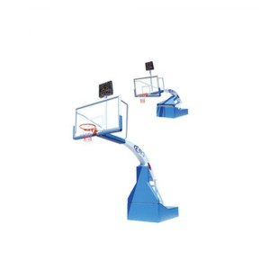 Pro Training Equipment Indoor Hydraulic Portable Match Basketball Hoop
