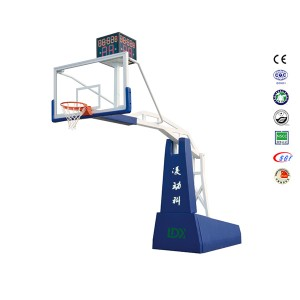 PRO Electric Hydraulic Indoor Basketball Goal Hoop for Sale