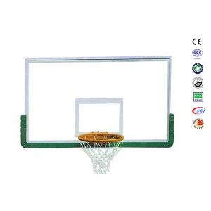 Customized Wholesale Tempered Glass Standard Size Of Basketball Board Outdoor