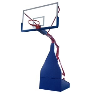 Basketball Training Sports Equipment Set Hydraulic Basketball Hoop Stand Portable