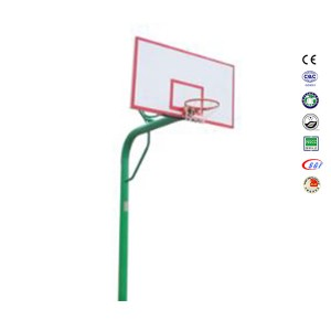 Wholesale in-Ground 10 Foot SMC Backboard Basketball Hoop In Backyard