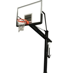 Outdoor Cheap Price Height Adjustable Inground Regulation Basketball Hoop