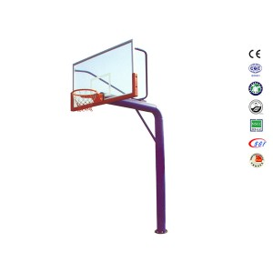 Cheap in-Ground Outdoor 10FT Basketball Post on Park or Backyard
