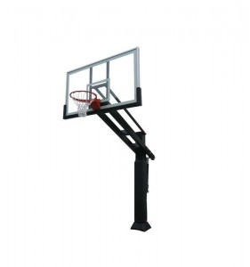 Adjustable Sports Training Equipment Outdoor in Ground Basketball Hoop