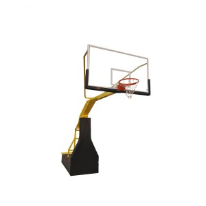 High Quality Manual Hydraulic Adjustable Height Basketball Stand