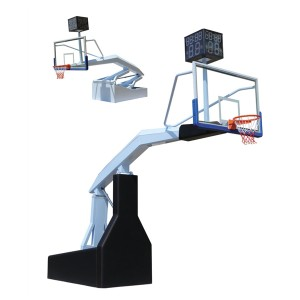 2019 New Design Portable Electric Hydraulic Basketball Goal