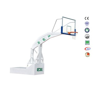 Professional Basketball Set, Outdoor Basketball Stand with glass Backboard