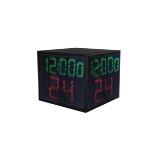 Basketball Equipment 5 Digits LED Four Sided 24 Second Shot Clock