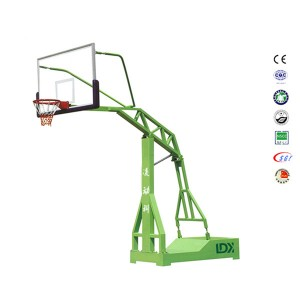 Pro Lifetime Outdoor Glass Backboard Basketball Hoop For Sale