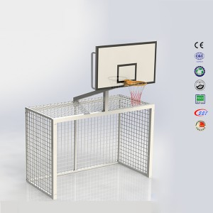 Customize Outdoor 10 Foot Goal Height Football Soccer Basketball Stand