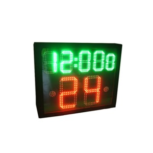 Basketball Equipment 5 Digits 24 Second Shot Clock for Basketball Games